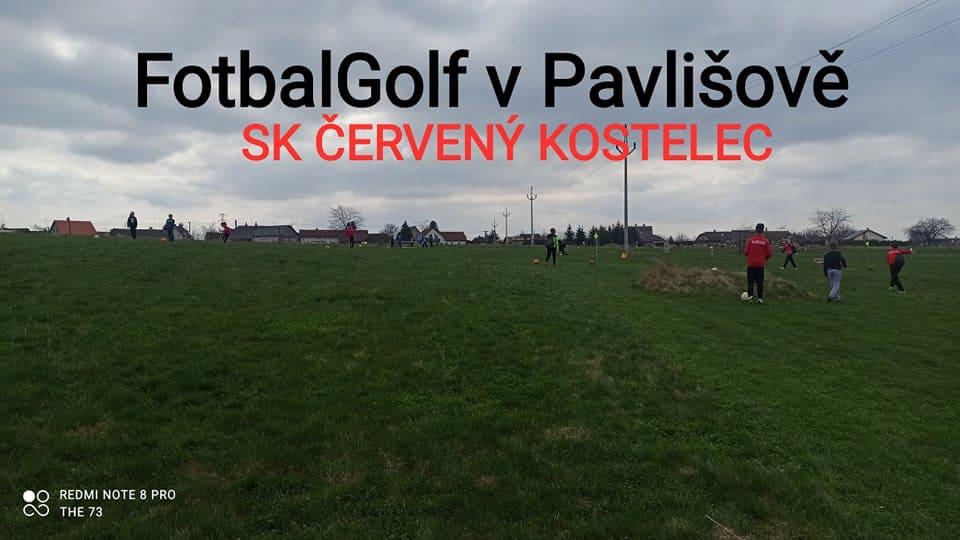 FotbalGolf v Pavlišově