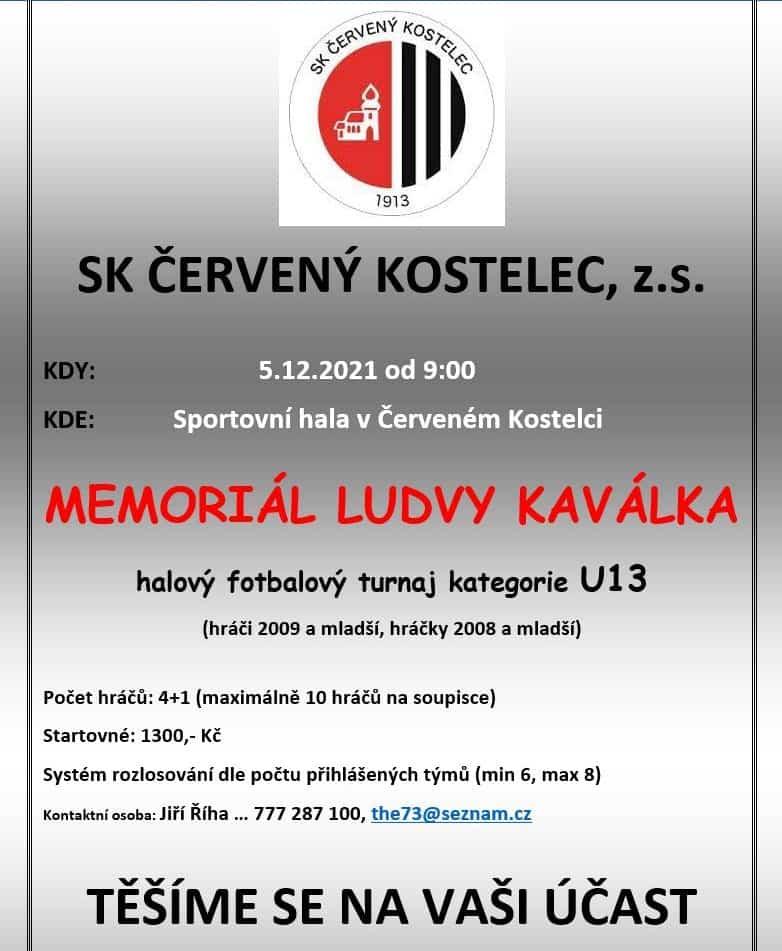 "Read more about the article ""Memoriál Ludvy Kaválka 2021"""